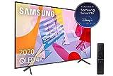 Samsung QLED 4K 2020 55Q60T - Smart TV de 55' con Resolución 4K UHD, con Alexa Integrada, Inteligencia Artificial 4K Wide Viewing Angle, Sonido Inteligente, One Remote Control